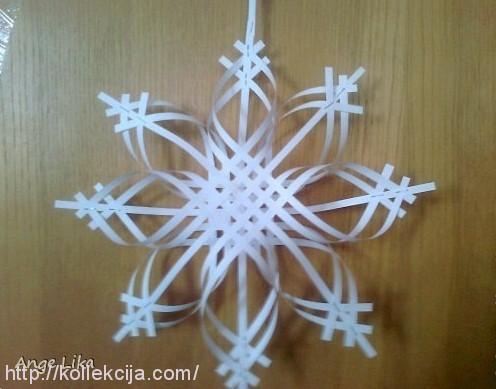 Объемные снежинки 3д своими руками