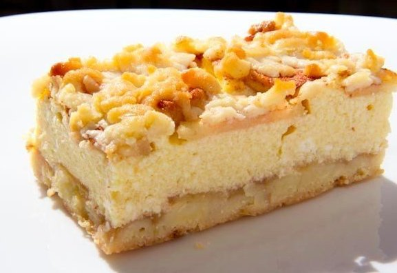 пирог с творогом и яблоками (577x396, 37Kb)