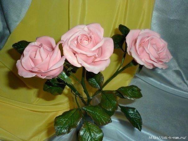 рецепт холодного фарфора. как приготовить холодный фарфор, как сделать розы из холодного фарфора,  Хьюго Пьюго холодный фарфор,