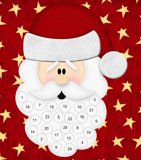 Как сделать календарь новогодний