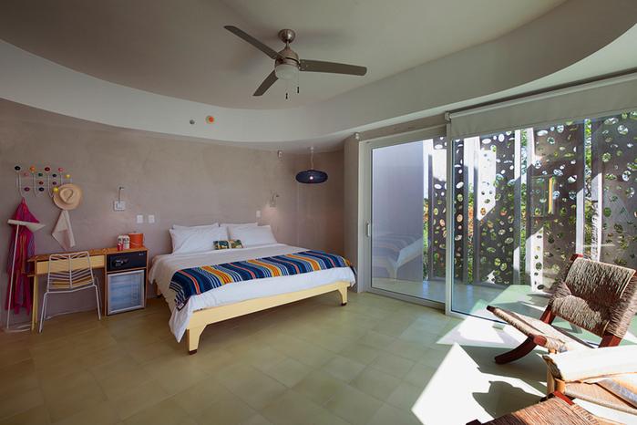 отель El Blok на карибских островах 7 (700x466, 390Kb)