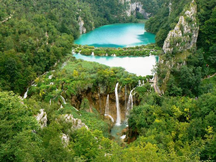 1. Плитвицкие озера  1 (700x525, 672Kb)