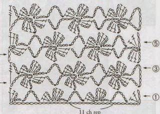 Схема узора для скатерти крючком (1) (320x227, 86Kb)