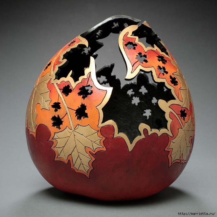 Резьба по тыкве. ШЕДЕВРЫ от Мэрилин Сандерленд (61) (700x700, 270Kb)