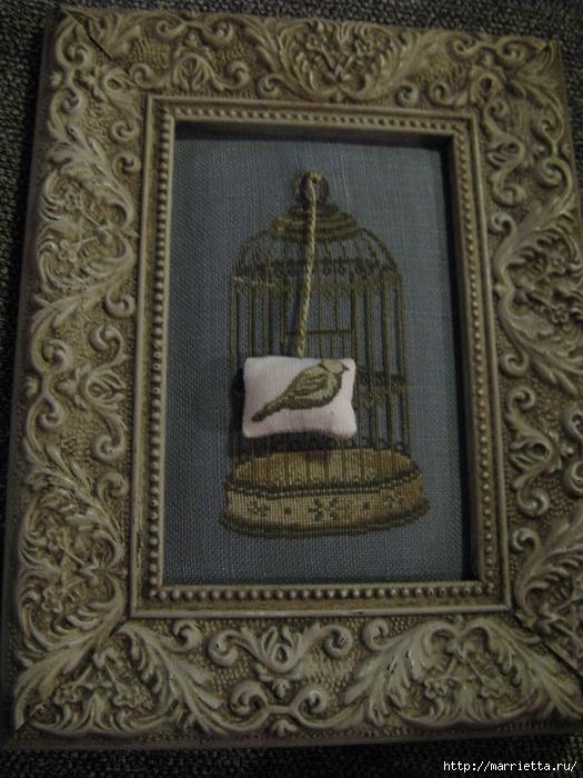 Винтажная вышивка. Схемы и идеи для вдохновения (14) (525x700, 303Kb)