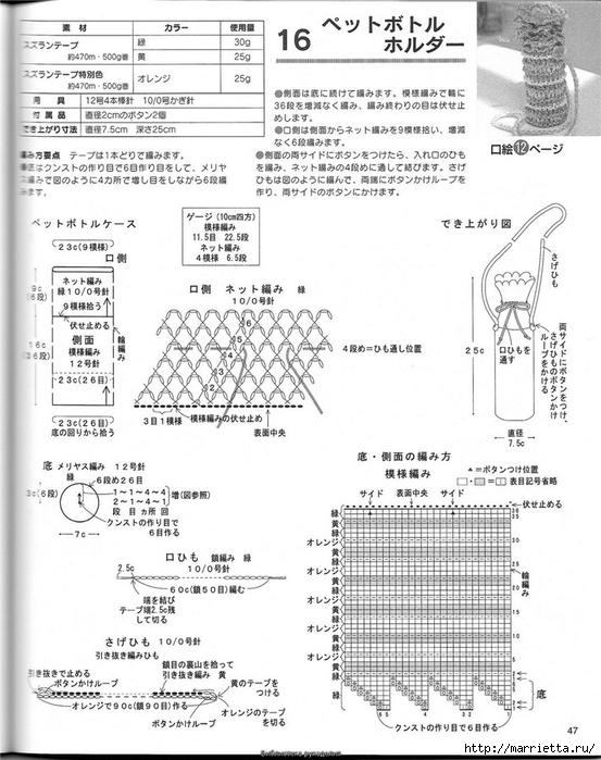 Корзинка и сумки крючком из полиэтиленовых пакетов (44) (553x700, 247Kb)