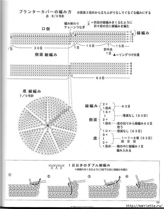 Корзинка и сумки крючком из полиэтиленовых пакетов (49) (546x700, 227Kb)