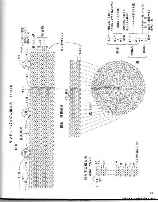 Корзинка и сумки крючком из полиэтиленовых пакетов (61) (546x700, 224Kb)