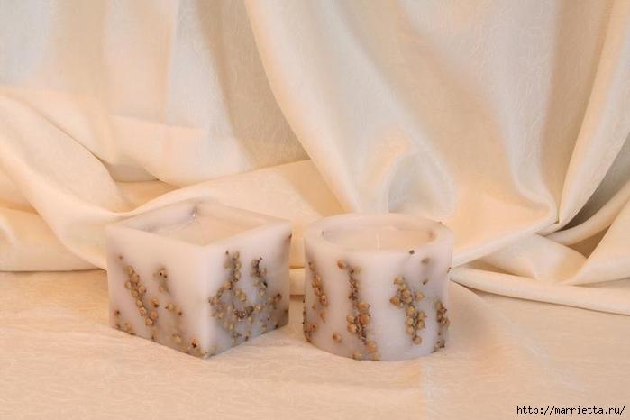 Создаем свечи с использованием пищевых продуктов и природных материалов (26) (700x466, 159Kb)