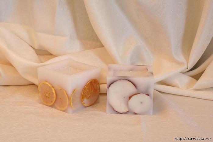 Создаем свечи с использованием пищевых продуктов и природных материалов (34) (700x466, 161Kb)