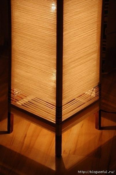 напольная лампа-ночник