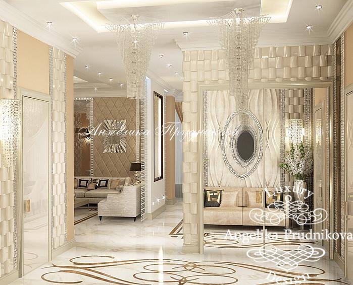 20_Дизайн холла в квартире в стиле неоклассика (700x566, 448Kb)