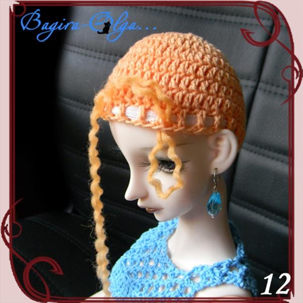 Как сделать парик из ниток для куклы своими руками