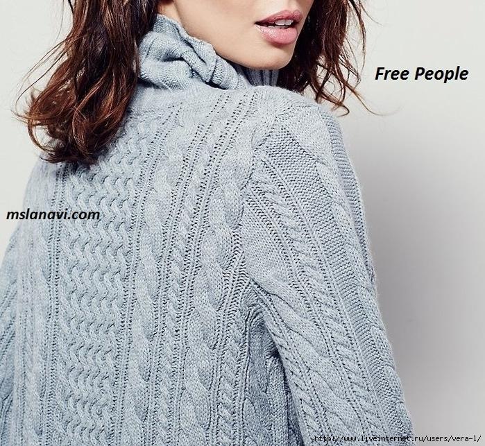 вязаное-платье-спицами-Free-People-4 (700x643, 433Kb)