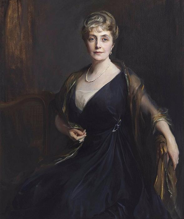 1917_Леди Орр-Льюис, урожд Мод Хелен Мэри Бут (Lady Orr-Lewis, nee Maude Helen Mary Booth) (589x700, 301Kb)