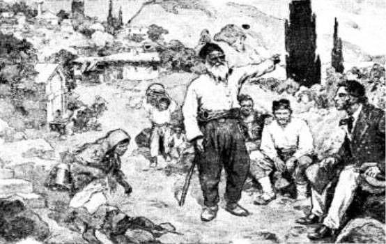 Н. Самокиш. А.С. Пушкин среди татар в Гурзуфе (554x350, 121Kb)