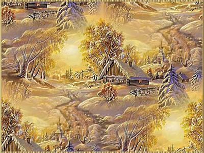 Зимнее-утро (400x300, 279Kb)