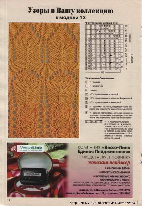DIANA Маленькая  1998-05 Вязание_16 (483x700, 309Kb)