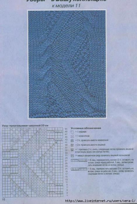 DIANA Маленькая  1998-11 Вязание_20 (469x700, 239Kb)