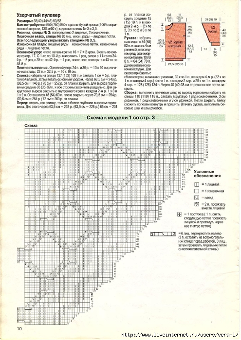 DIANA Маленькая  1998-01 Вязание_10 (495x700, 306Kb)