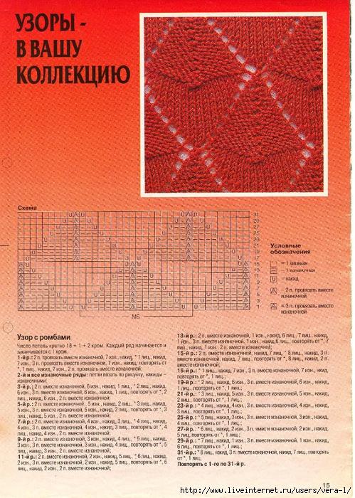 DIANA Маленькая  1998-01 Вязание_16 (499x700, 414Kb)
