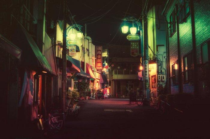 ночной токио фото 2 (700x465, 225Kb)