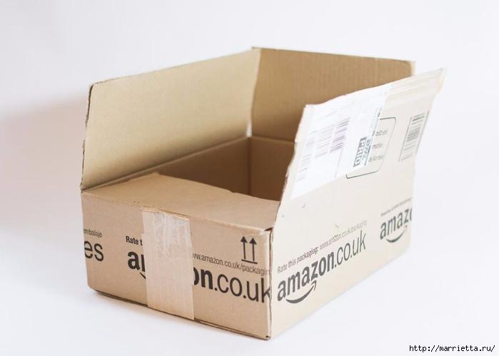 Домик в Викторианском стиле. Из картонной коробки (2) (700x499, 115Kb)