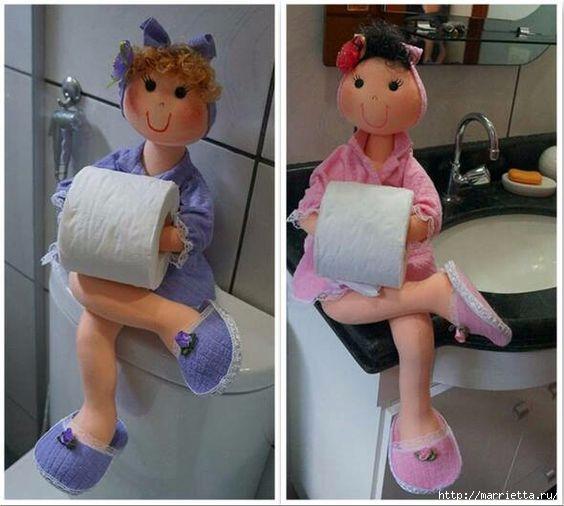 marionetas textiles - portarrollos de papel higiénico.  Patrones (17) (564x506, 134Kb)