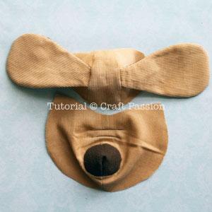Шьем собачку из цветочков йо-йо. Мастер-класс и выкройка (14) (300x300, 52Kb)