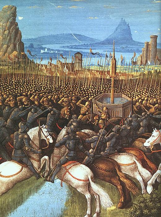 Военно исторический топ 5: самые важные битвы Средних веков в Европе