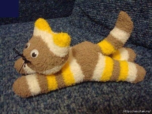 котики из носков