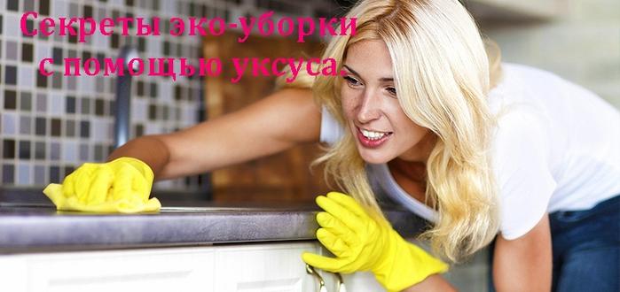 """alt=""""Секреты эко-уборки с помощью уксуса.""""/2835299_EKOOYBORKA_1_ (700x330, 177Kb)"""