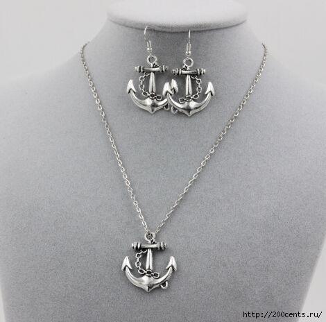 2015 new free shipping silver Taiji anchor Sun Moon Pendant chain Necklace Set female gift smt350/5863438_2015novayabesplatnayadostavkataicziyakorsolncelynakyloncepiojerelejenskiipodaroksmt3504 (470x464, 80Kb)