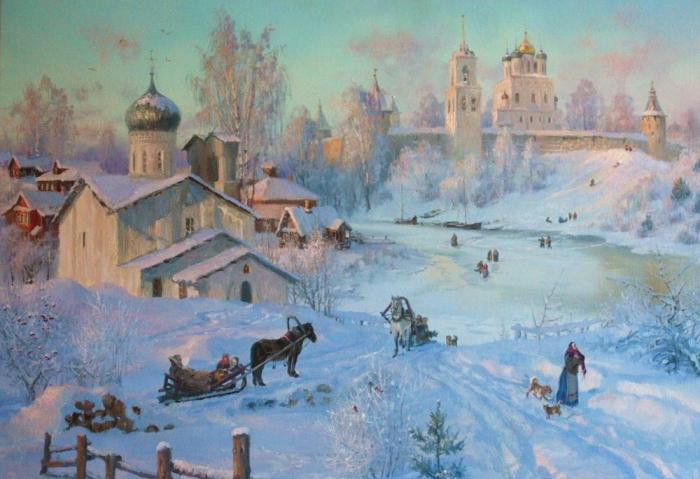 Нынешняя зима словно подарок екимов 13