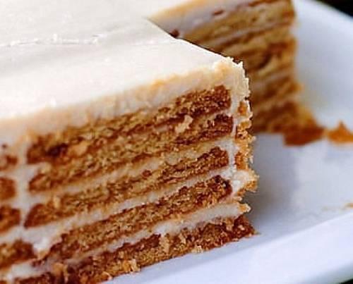 Творожный крем для торта из печенья рецепт