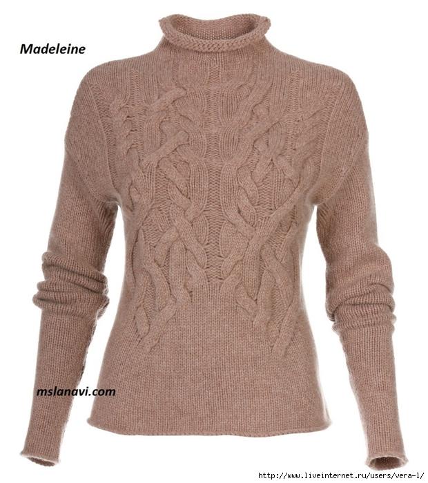 модный-пуловер-спицами-перед (620x700, 273Kb)