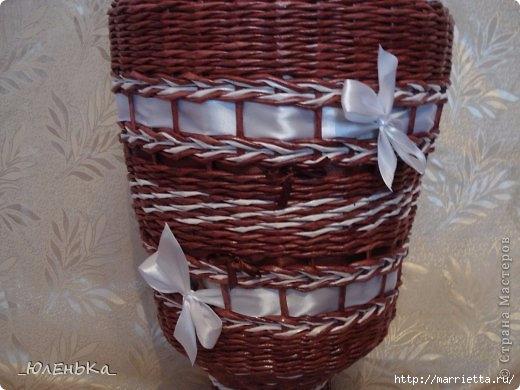 Напольная ваза из газет. Из чего сделать форму для оплетания (7) (520x390, 125Kb)