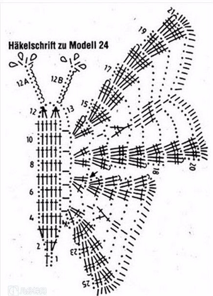бабочка - копия (2) (436x605, 186Kb)