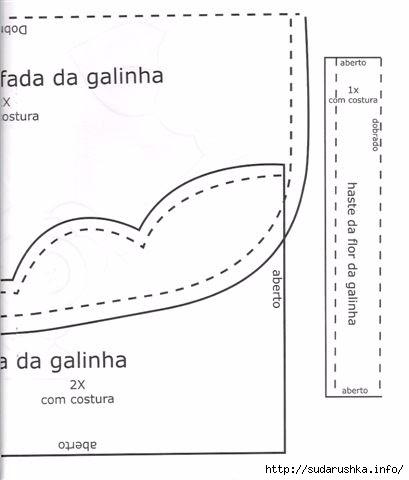 Galinha Philomena moldes 3 (409x480, 60Kb)