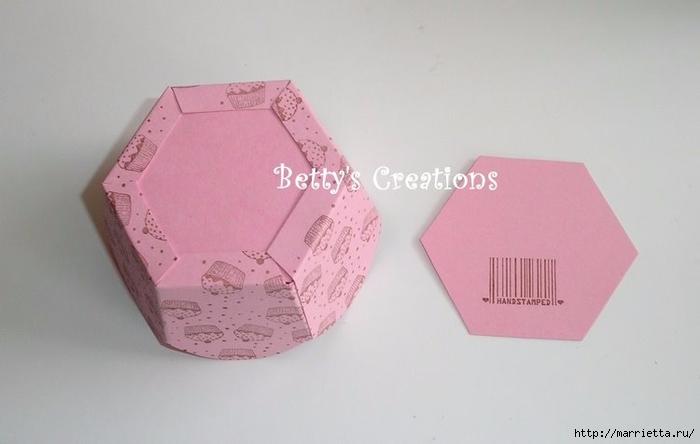 Коробочка своими руками из бумаги шаблон