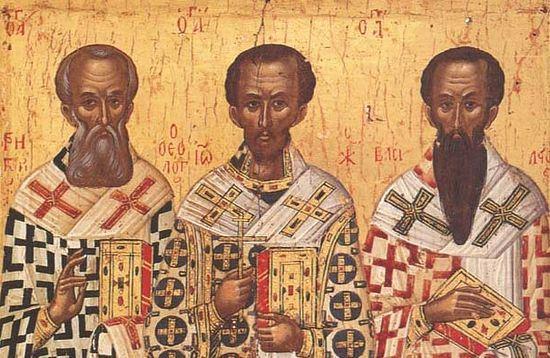 Три святителя - Василий Великий, (550x358, 57Kb)