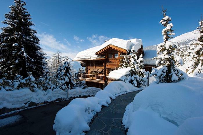 альпийское шале фото 18 (700x466, 377Kb)