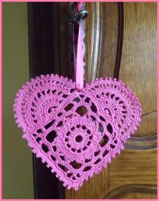 Схемы вязания сердечек - валентинок крючком (13) (230x291, 82Kb)