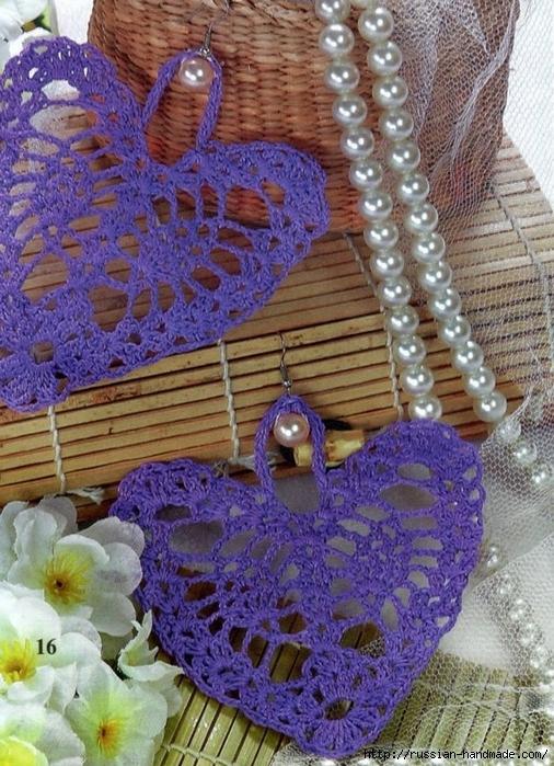 Схемы вязания сердечек - валентинок крючком (18) (506x700, 351Kb)