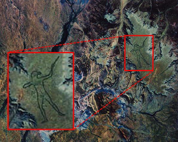 рисунок аборигена в автралии 2 (595x475, 300Kb)