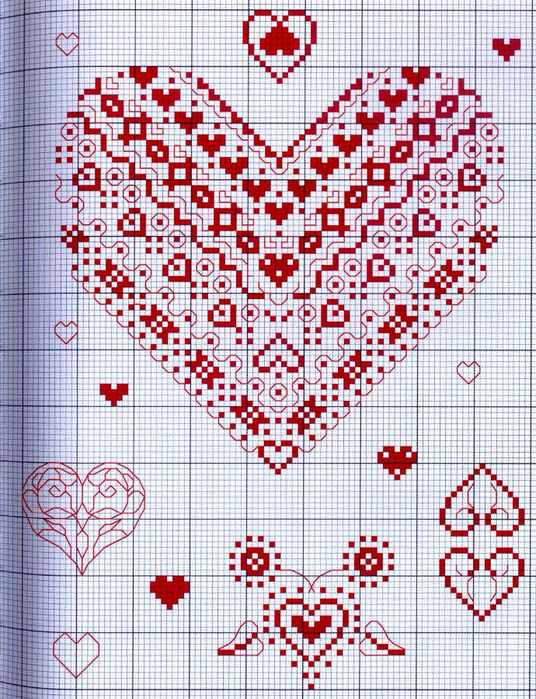 Орнаменты схемы по вышивке