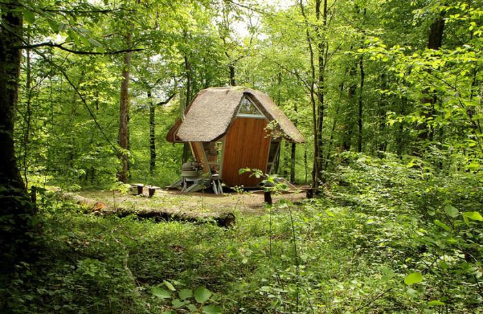 Лесные домики Le Nichoir 2 (700x455, 617Kb)