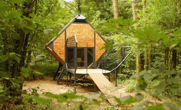 Лесные домики Le Nichoir 6 (700x425, 426Kb)