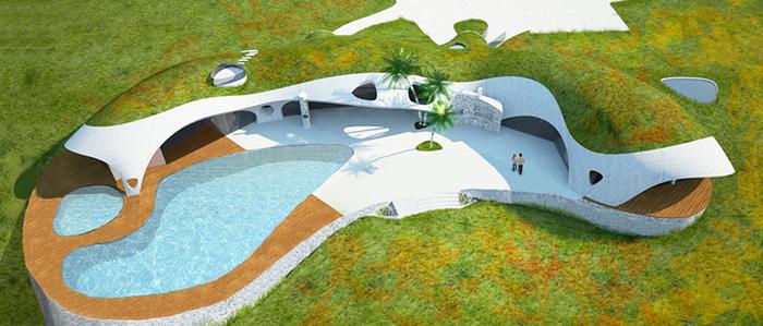 надувные дома из бетона Binishell 2 (700x299, 337Kb)