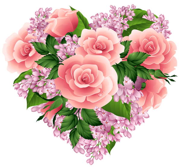 3350917_Floral_Heart_PNG_Clipart_Image (600x556, 389Kb)